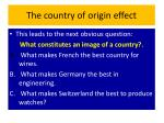 the country of origin effect4