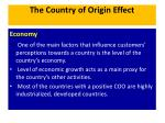 the country of origin effect7