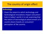 the country of origin effect8