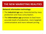 the new marketing realities1