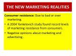 the new marketing realities7
