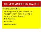 the new marketing realities8