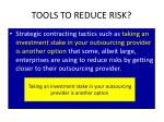 tools to reduce risk4