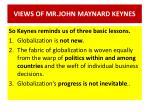 views of mr john maynard keynes2