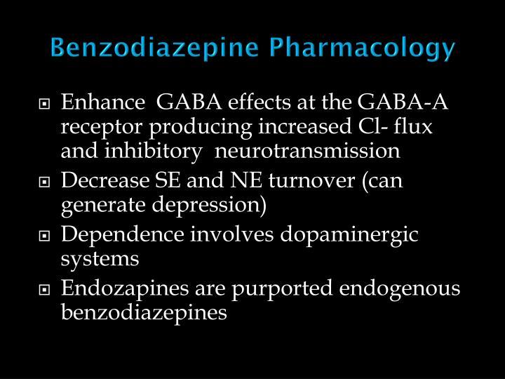 Benzodiazepine Pharmacology