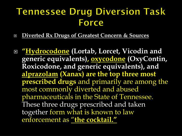 Tennessee Drug Diversion Task Force
