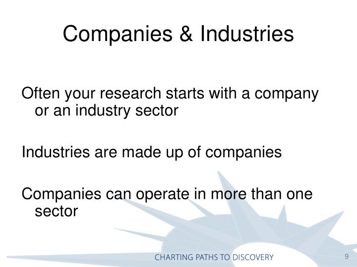 Companies & Industries