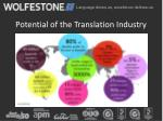 potential of the translation industry