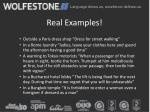 real examples1