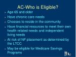 ac who is eligible