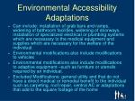environmental accessibility adaptations1