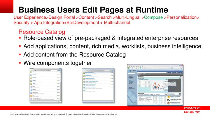Business Users Edit Pages at Runtime