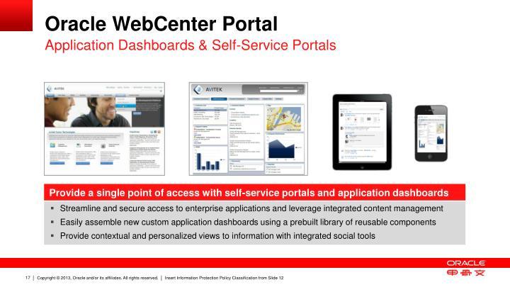 Oracle WebCenter Portal