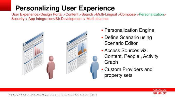 Personalization Engine