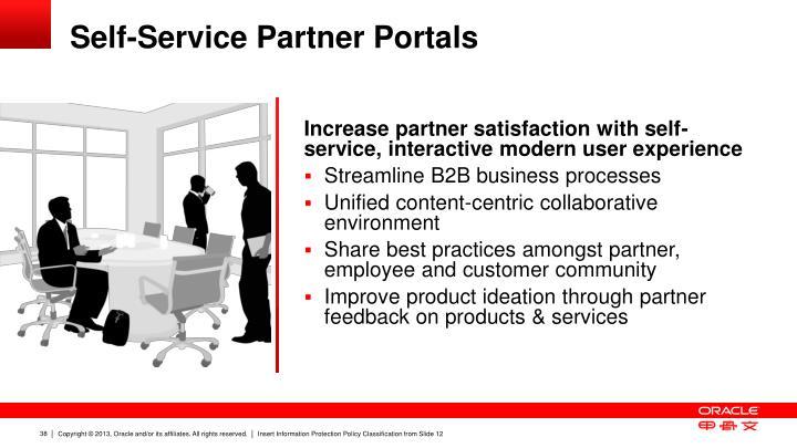 Self-Service Partner Portals