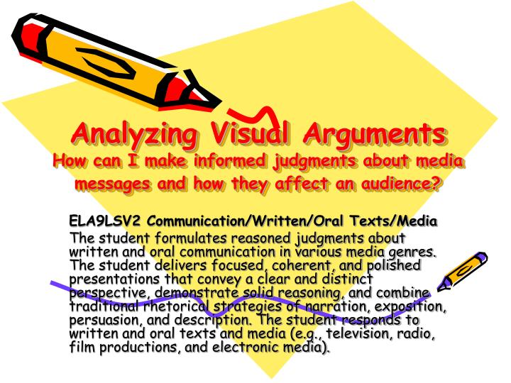 analyzing visuals essay