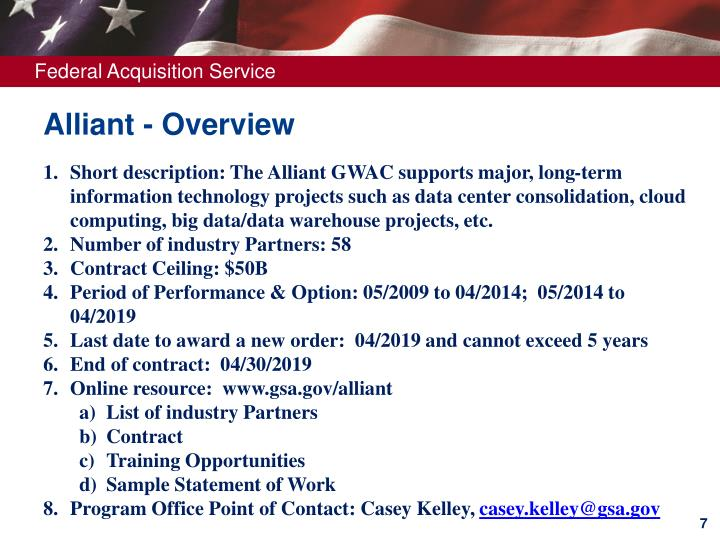 Alliant - Overview