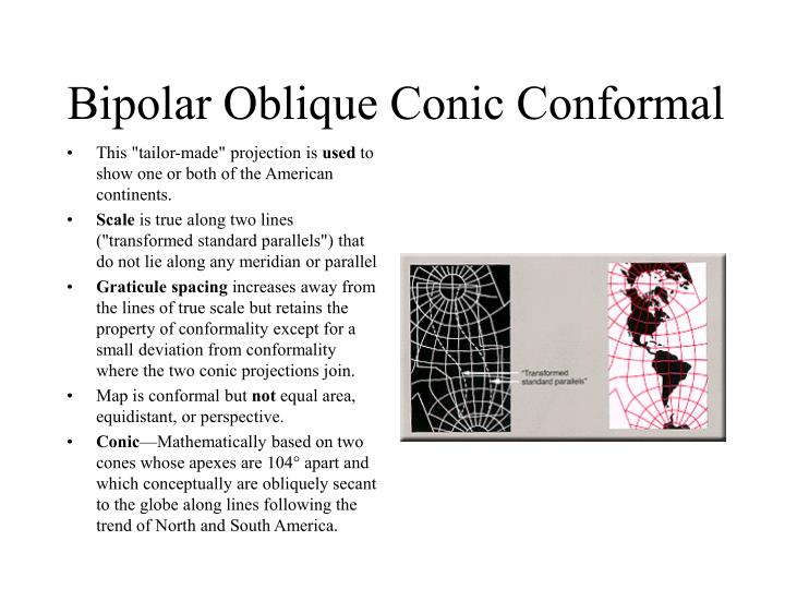 Bipolar Oblique Conic Conformal