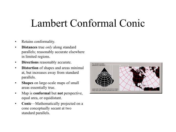 Lambert Conformal Conic
