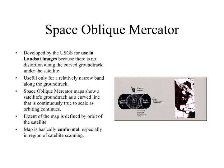 Space Oblique Mercator