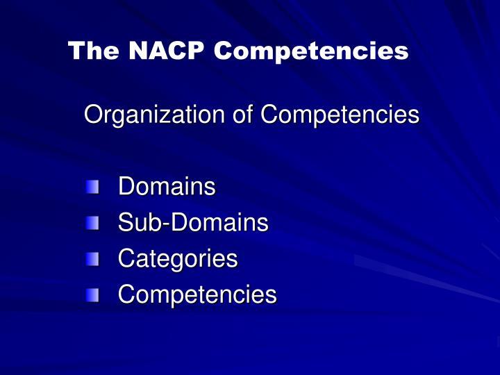 The NACP Competencies
