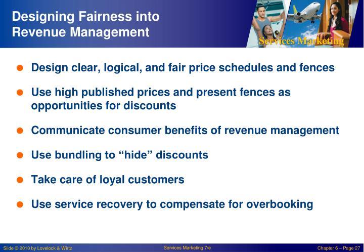 Designing Fairness into