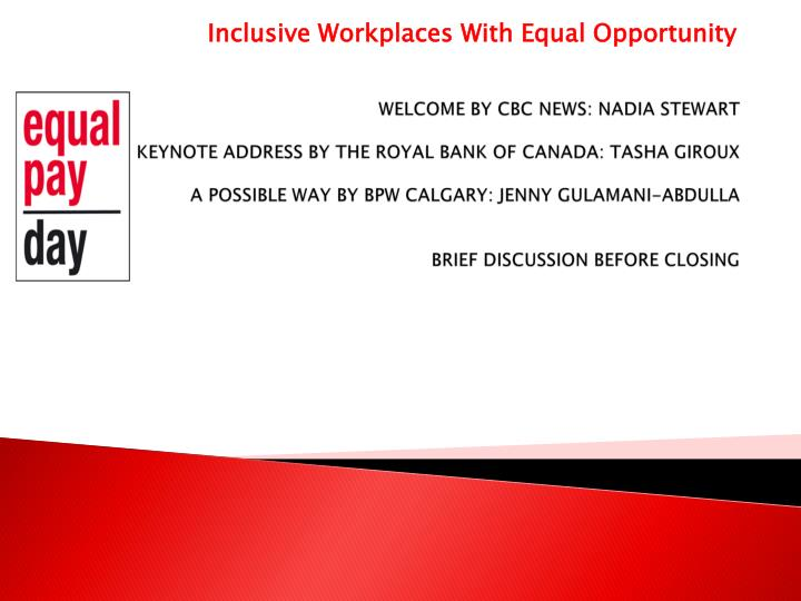 a discussion on equal oportunity for women How to reduce the pay gap between men and women women receive equal pay for equal work read the discussion women need equal opportunities for job.