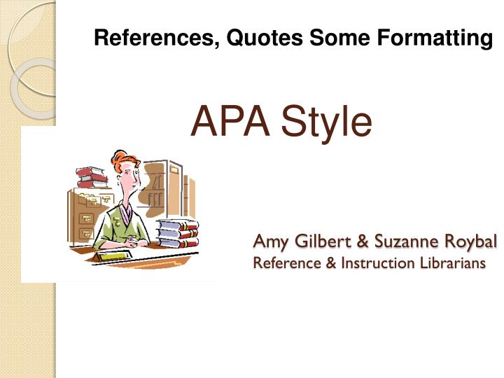 amy gilbert suzanne roybal reference instruction librarians n.