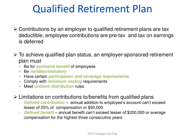 Qualified Retirement Plan
