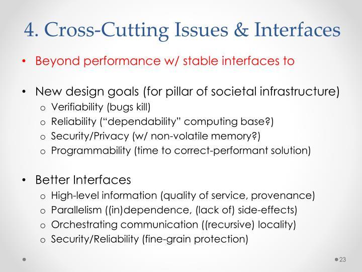 4. Cross-Cutting
