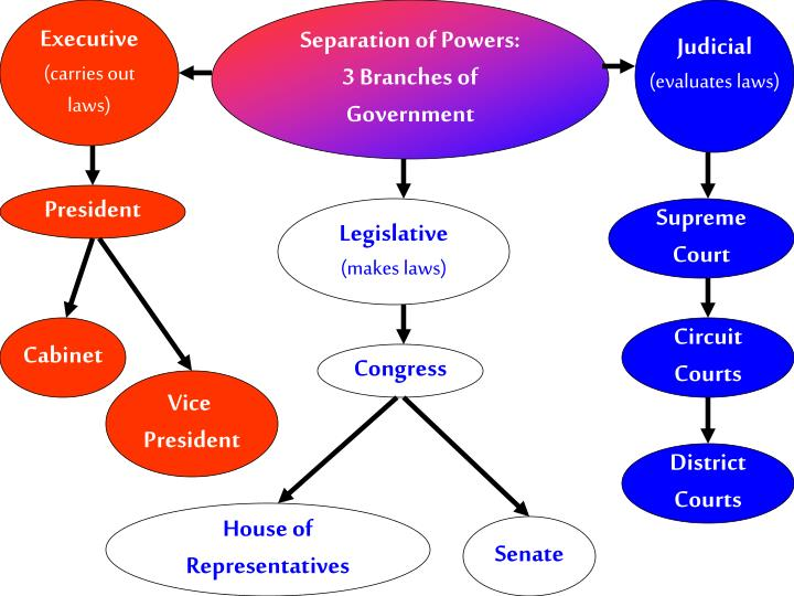 the importance of seperation of powers through the american presidency Separation of powers/checks and through the separation of powers and the system an important element of the separation of powers in the us is.