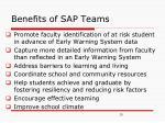 benefits of sap teams