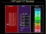 10 th and 11 th access1