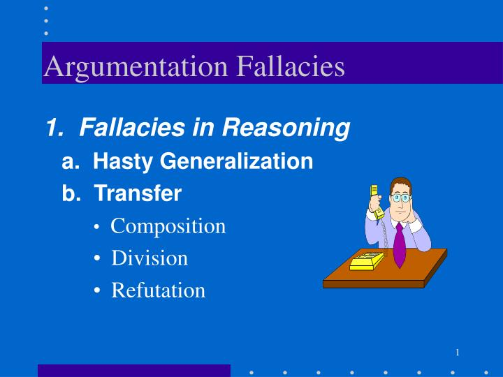 Argumentative Fallacy Definition