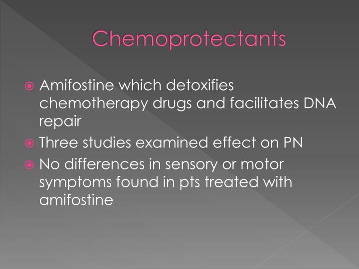 Chemoprotectants