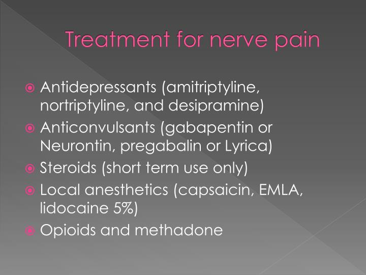 Treatment for nerve pain