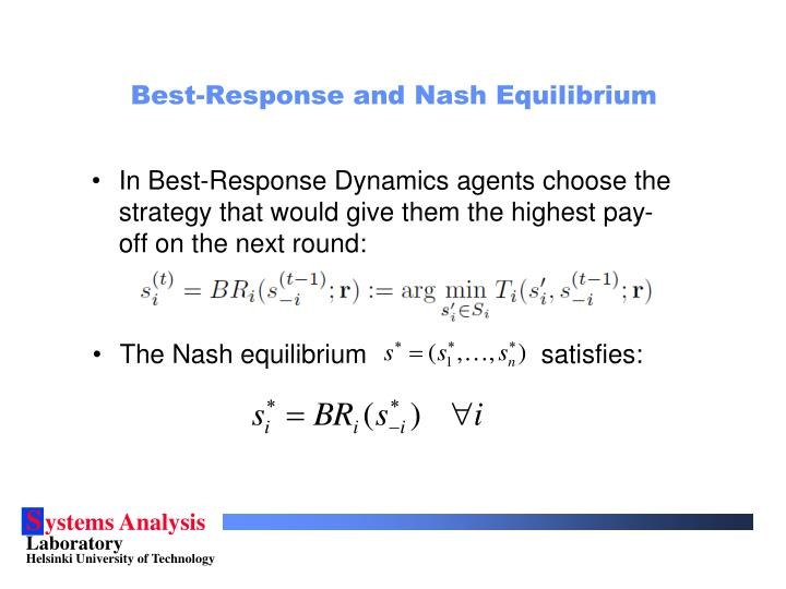 Best-Response and Nash Equilibrium