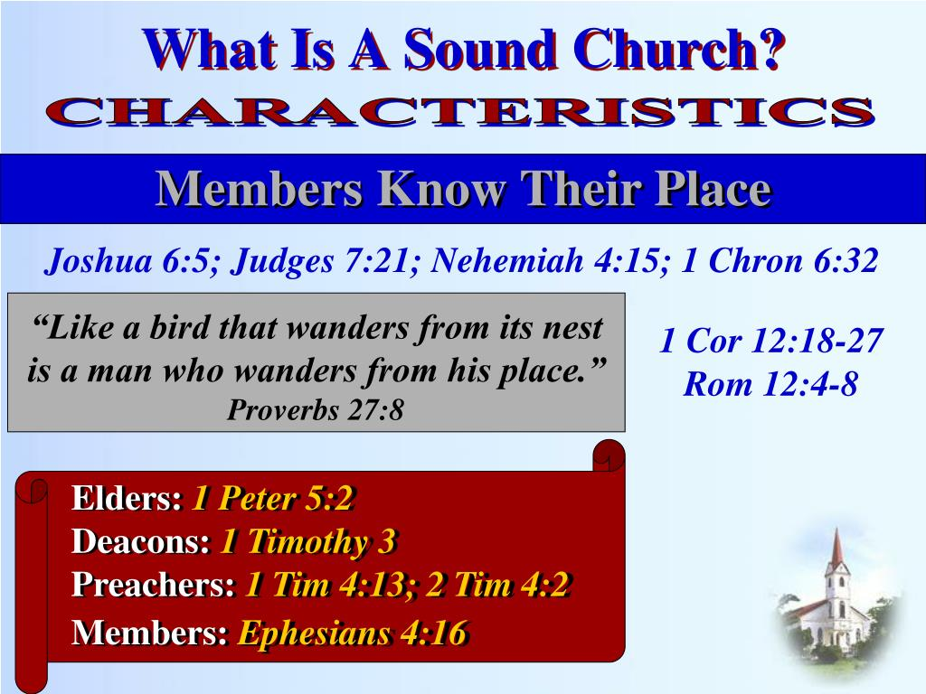 PPT - What Is A Sound Church? PowerPoint Presentation - ID:1790377
