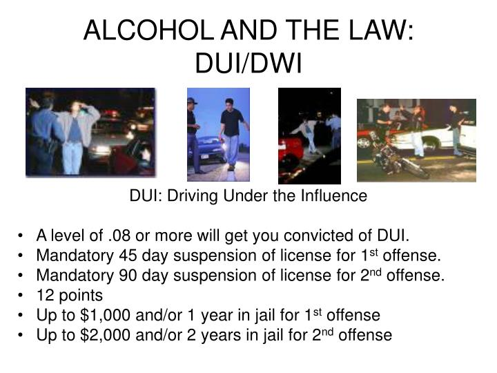 mandatory dui laws and or technology should Dui stands for driving under the influence, while dwi stands for driving while intoxicated or driving while impaired depending on the state, the definitions and repercussions of a dui and/or dwi charge vary many states use the terms interchangeably, as they are legally treated as the same crime.