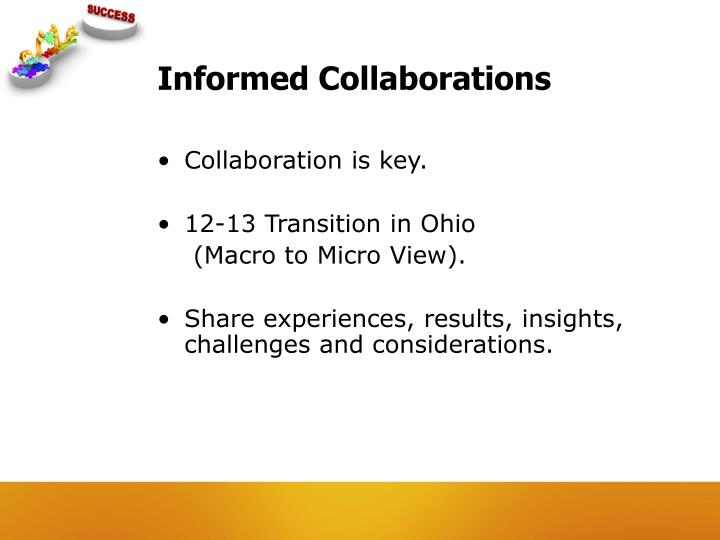 Informed Collaborations