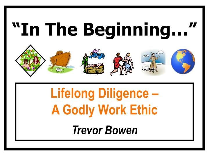 """In The Beginning…"""