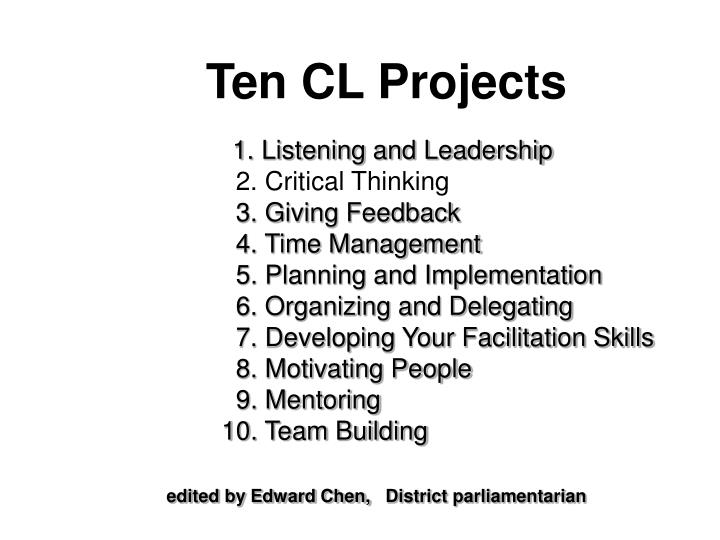 are critical thinking and time management related