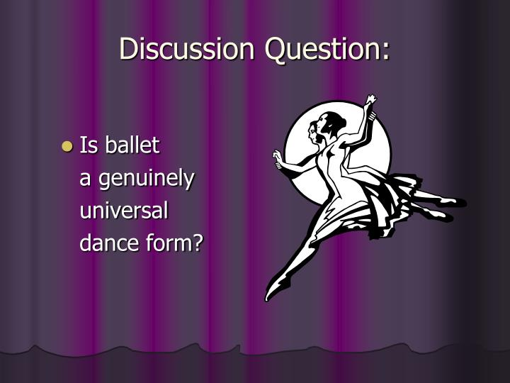 Discussion Question: