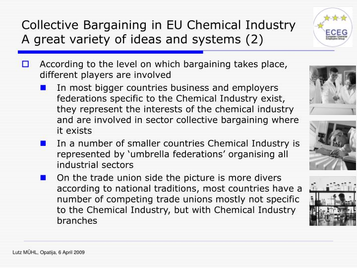 Collective Bargaining in EU Chemical Industry