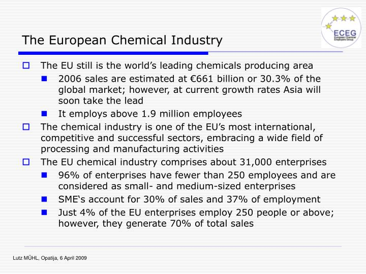 The European Chemical Industry