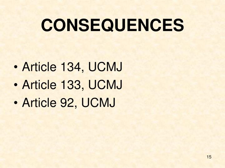 article 92 ucmj essay Free essay on 1500 word essay on article 92 (ucmj) available totally free at echeatcom, the largest free essay community.