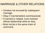 marriage other relations