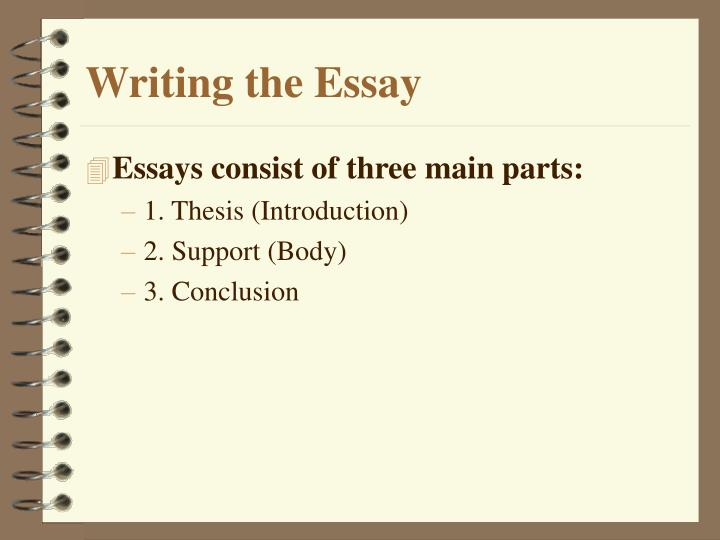 three parts of essay Video created by lund university for the course writing in english at university in module 1 we looked at some of the aspects that you will need to consider before embarking on an academic writing project.