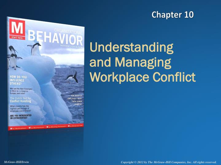understanding and managing workplace conflict n.
