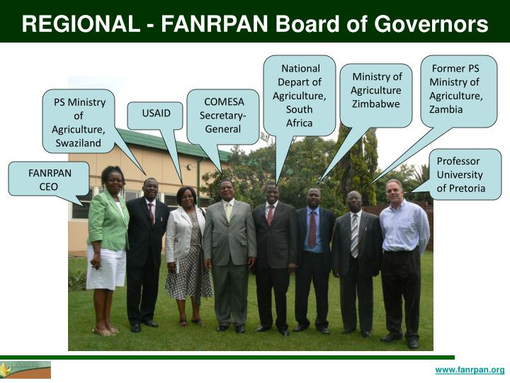 REGIONAL - FANRPAN Board of Governors